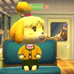 Isabelle in the train Blobfish, Animal Crossing Memes, Wholesome Memes, New Leaf, Funny Cute, Game Art, Video Game, Cute Animals, Cartoon