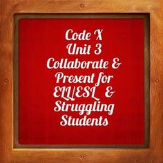 Topic: Collaborate and Present section of Code X (8th Grade Curriculum Pages 168-169) This Omega English product was made specifically for ELL/ESL and struggling students.  It contains 3 graphic organizers, a writing worksheet, and a student model.   The graphic organizers help the students identify their mentor and provide evidence to support why they selected the particular mentor.
