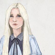 Fleur Delacour by jenna paddey art on tumblr