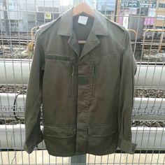 1988年フランス軍実物本物【F2】JACKET Military Jacket, Leather Jacket, Jackets, Fashion, Studded Leather Jacket, Down Jackets, Moda, Field Jacket, Leather Jackets