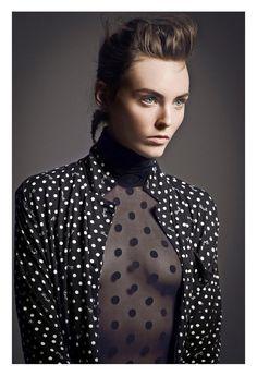 Polka Dots Vogue Fashion