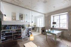 Schwedischen Architekten Karin Matz transformiert einem verlassenen Raum, den sie in eine Mehrzweck winzigen h ...