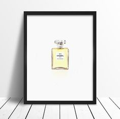 Chanel 5 Print Coco Chanel Print Modern art di WallArtbyMelina