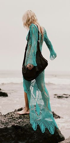 turquoise catch bohemian chic free spirit style