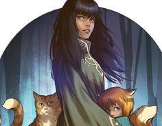 Monstress // Comic Book Illustration