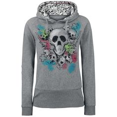 Blur Of Colour Skull by Full Volume by EMP
