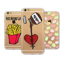 Fries before guys, bow, nutella, emojis, candy, feminist phone cases. This item takes 12-20 days to arrive like the majority of Erica's Unique Styles items. Compatible Brand: Apple iPhones Type: Case