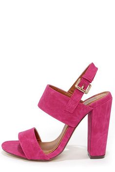 Fay 1 Fuchsia High Heel Sandals