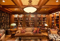 Coffered Ceilings and Built-ins