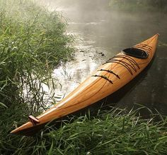 Justin Charles : Cedar Strip Wooden Kayak   Sumally