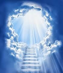 Stairway to Heaven light streaming, Akiane Kramarik Pictures of Heaven From, Real Movie, Colton Burpo, Licht Tattoo, Akiane Kramarik Paintings, Heaven Tattoos, Les Religions, Prophetic Art, Heaven And Hell, Celestial, Christian Art, Kingdom Of Heaven