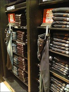 C-Clamped Jeans Category Definition is Display Highlight