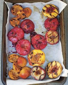 When plums, peaches, and nectarines are in season, they make the sweetest grilling snack (and we mean that literally).