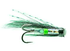 silver stoat micro tube fly