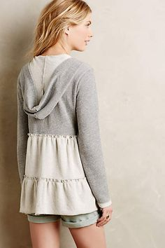 Tiered Swing Hoodie - anthropologie.com #anthrofave