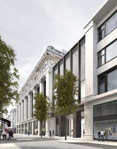 a22642648282 David Chipperfield Architects . Selfridges flagship store redevelopment .  London David Chipperfield Architects