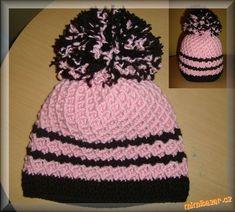 HÁČKOVÁNÍ - Zimní čepice s plastickým vzorem Winter Hats, Beanie, Fashion, Moda, La Mode, Fasion, Beanies, Fashion Models, Trendy Fashion