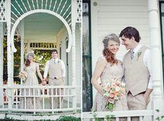 Eco-Chic Texas Wedding: Clara + Matt