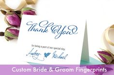 Wedding Thank You Card  Personalized  Set of 50   by weddingfusion, $165.00
