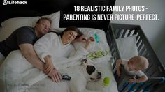 Parenting is exhausting! We all know that. Family photographer, Danielle Guenther, as a mom herself, decided to capture the most realistic moments of parenting.