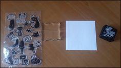 ¿Cómo se usan los sellos acrílicos? | Manualidades