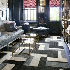 Don't buy an area rug without considering these tips: FLOR carpet tiles