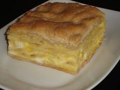 Greek Makaronopita Recipe. This pie is a speciality of the Agrinio  region, which is towards the north west of the Greek mainland. The pasta that is used is the same as that used for Pastichio. Here, this is No.10, but if in doubt, it's the long, thick pasta with a hole along the centre