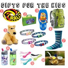 Holiday Gift Guide - For the Kids  #giftguide www.fontanasports.com