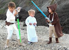 3. Star Wars: This one doesn't have to be made for kids, but how absolutely adorable is this? Melissa of Melly Sews has everything you need to know to get your little ones into character.