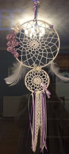 Just finished this dream catcher for my mum's birthday x