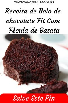 Chocolate Fit, Bolos Low Carb, Lactose, Paleo, Fitness, Desserts, Life, Food, Recipe Of Chocolate Cake