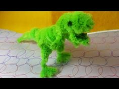 Pipe cleaner Crafts - TRex