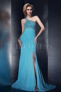 Sexy Mermaid Floor-Length One Shoulder Neckline Dashas Evening/Prom Dress