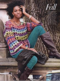 Vogue Knitting 2014 秋 - 紫苏 - 紫苏的博客