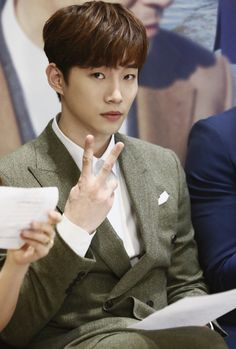 Lee Junho at the 'Memory' Press Conference