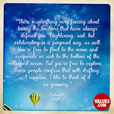 An inspirational quote by Deborah Smith about the value of Spread Your Wings