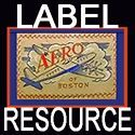 Clothing label resource - history and photos of clothing labels from Vintage Fashion Guild.