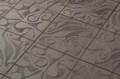 Ann Sacks Concrete Floor Tiles. Just....lovely.