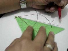 Bisectriz y Mediatriz construcciones: Julio Rios explica cómo construir la bisectriz de un ángulo y la meditariz de un segmento, usando compás y regla.