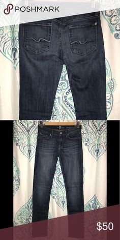 "7 For All Mankind jeans 7 For All Mankind ""roxanne"" skinny jeans (medium-light wash) 7 For All Mankind Jeans Skinny"
