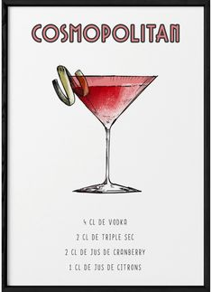 Cocktail Shots, Cocktail And Mocktail, Margarita Cocktail, Cocktail Recipes, Healthy Cocktails, Vodka Cocktails, Alcoholic Drinks, Cosmopolitan, Food Drawing