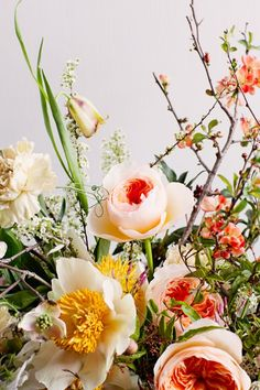 beautiful, spring flowers.