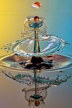 water drops round circle looks like umbrella made of water by parminder singh on Water Drop Photography, High Speed Photography, Creative Photography, Amazing Photography, Art Photography, Splash Fotografia, Fotografia Macro, Cool Pictures, Cool Photos