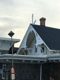 Nordic-inspired architecture at Black Pelican, formerly the Kitty Hawk lifesaving station.