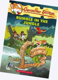 Geronimo Stilton-A lot of fun and adventure for ages6-9