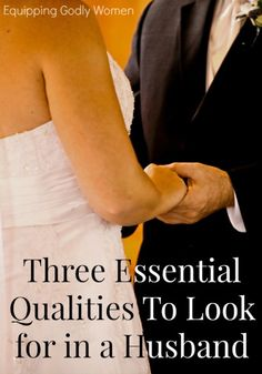 Wondering if your boyfriend might be good husband material? Ask yourself if he has these three ESSENTIAL qualities to look for in a husband.