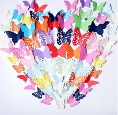 48 pieces  Butterfly Family Home Bedroom Wall Stickers Mural Decal Paper Art Decoration 16071405