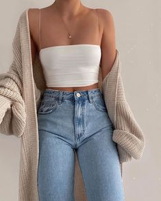 Fashion Tips Moda .Fashion Tips Moda Cute Comfy Outfits, Girly Outfits, Mode Outfits, Retro Outfits, Simple Outfits, Stylish Outfits, Vintage Outfits, Fresh Outfits, Teenager Outfits