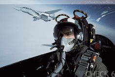 Check 6 Aviation Photography Stock Agency | Sample Gallery | Pilots | F-14 Tomcat RIO in Flight - by Tom Twomey