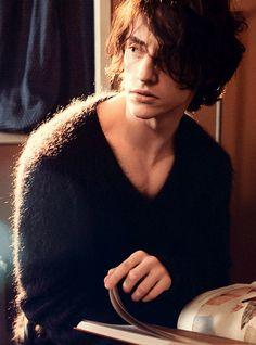 Men's mohair sweater